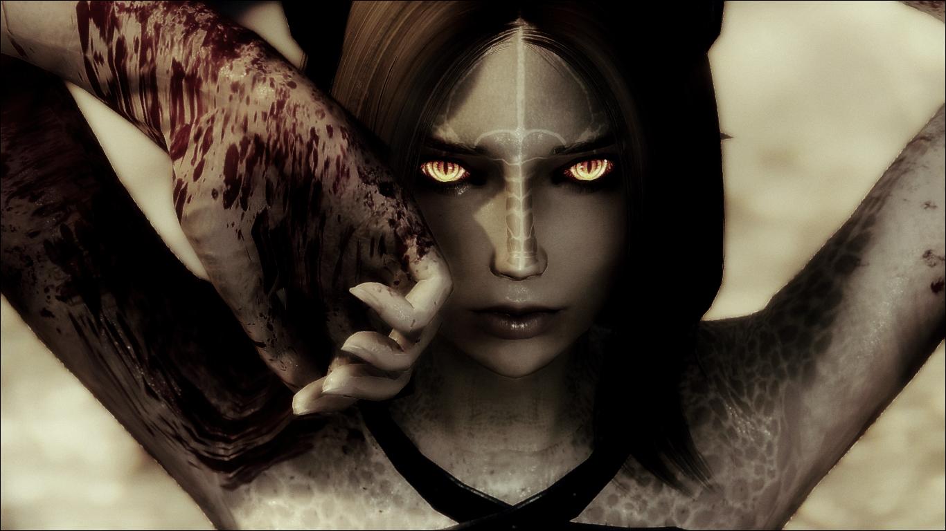 Mour - Fully Voiced Halfdragon Follower | Skyrim | Skyrim, Skyrim