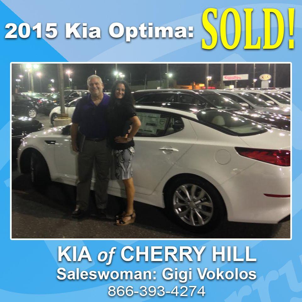 SOLD! 2015 Kia Optima From Saleswoman Gigi Vokolos! [South