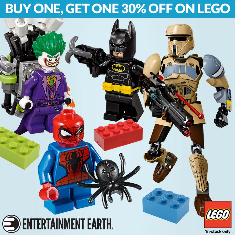 Buy One Get One 30% Off On All In Stock Lego Products ...