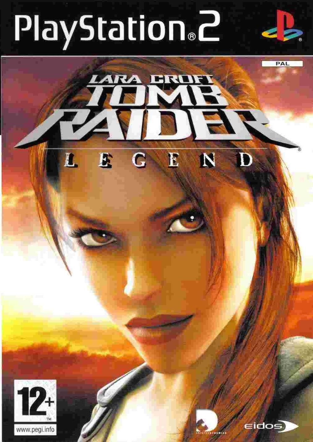 Lara Croft Tomb Raider Legend PS2 Tomb raider, Tomb