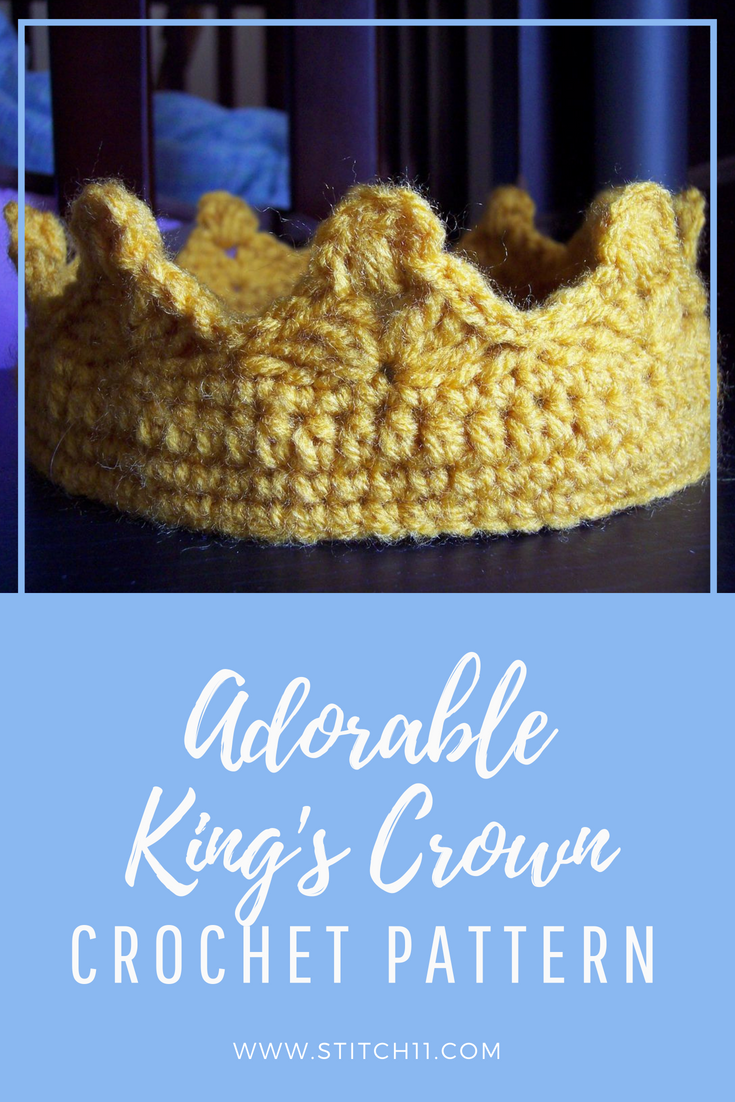 Crown Crochet Pattern For The King Of Your Castle This Free