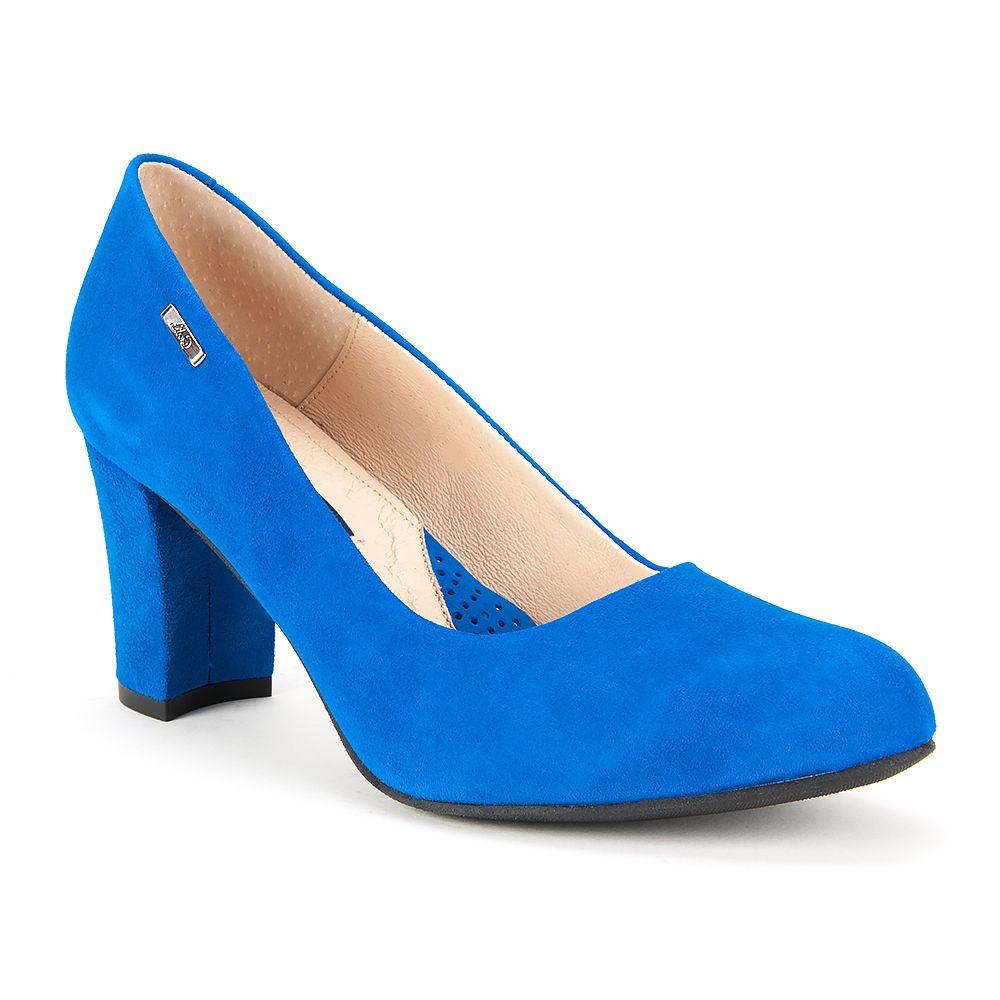 Czolenka Libero 8030 155 Niebieskie Czolenka Na Obcasie Czolenka Na Koturnie Czolenka Buty Damskie Filippo Pl Blue Shoes Shoes Pumps