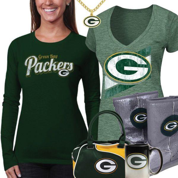 new style 83a51 a1ea7 Cute Green Bay Packers Fan Gear | Green Bay Packers Fashion ...