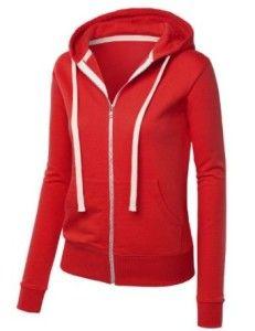 MBJ Soft Premium Fleece... http://hotzipuphoodies.com/mbj-soft-premium-fleece/ #red #zipuphoodie #hoodies #fleece #mbj