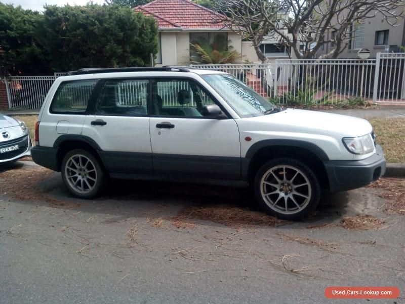 Car for Sale Subaru forester 2002 SYDNEY