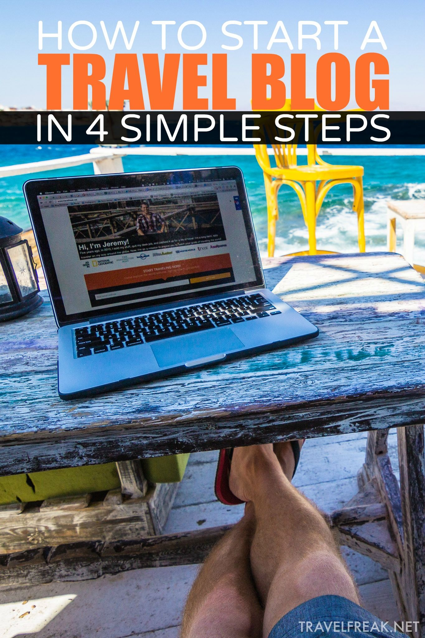The 7 step blueprint to starting a successful travel blog ahorro y howtostartawordpresstravelbloga malvernweather Image collections
