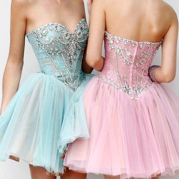 Sherri Hill 21156 blue and pink