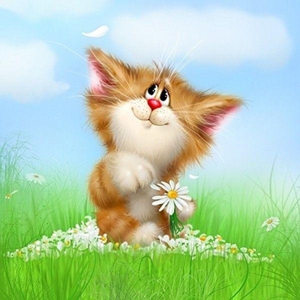 Планета котиков Алексея Долотова -   Planet cats Alexei Dolotov  Почему то принято что картинки с котиками - это пятница? Такие замечательные картинки как у Алексея Долотова, на мой взгляд, хороши в любой день.  #художник #artist