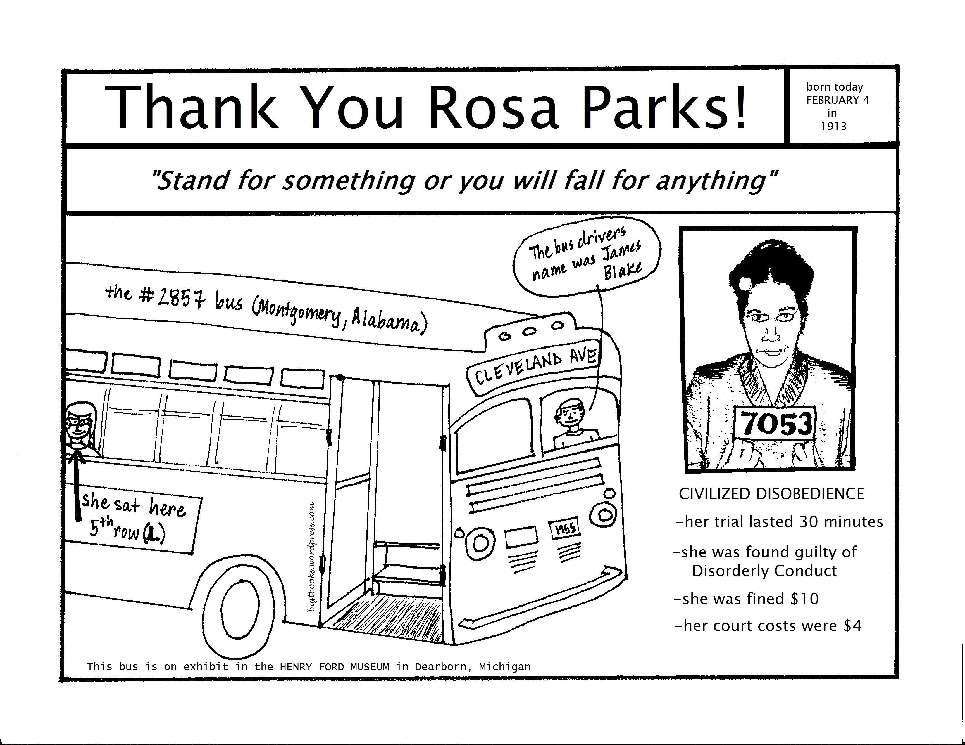 Rosa Parks Coloring Page Rosa Parks Coloring Pages Black Power