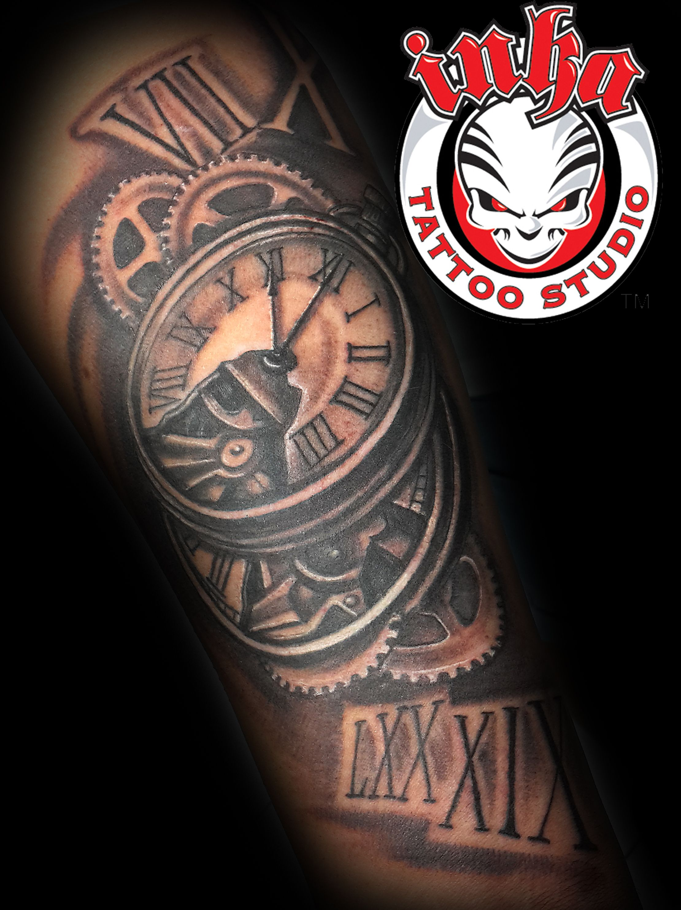 clock tattoo inka tattoo malta tattoos pinterest. Black Bedroom Furniture Sets. Home Design Ideas