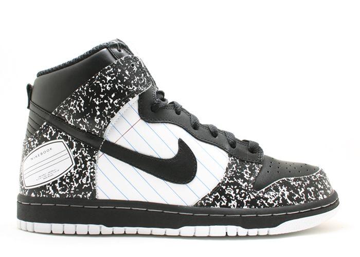 Nike Dunk High - Premium Nikebook