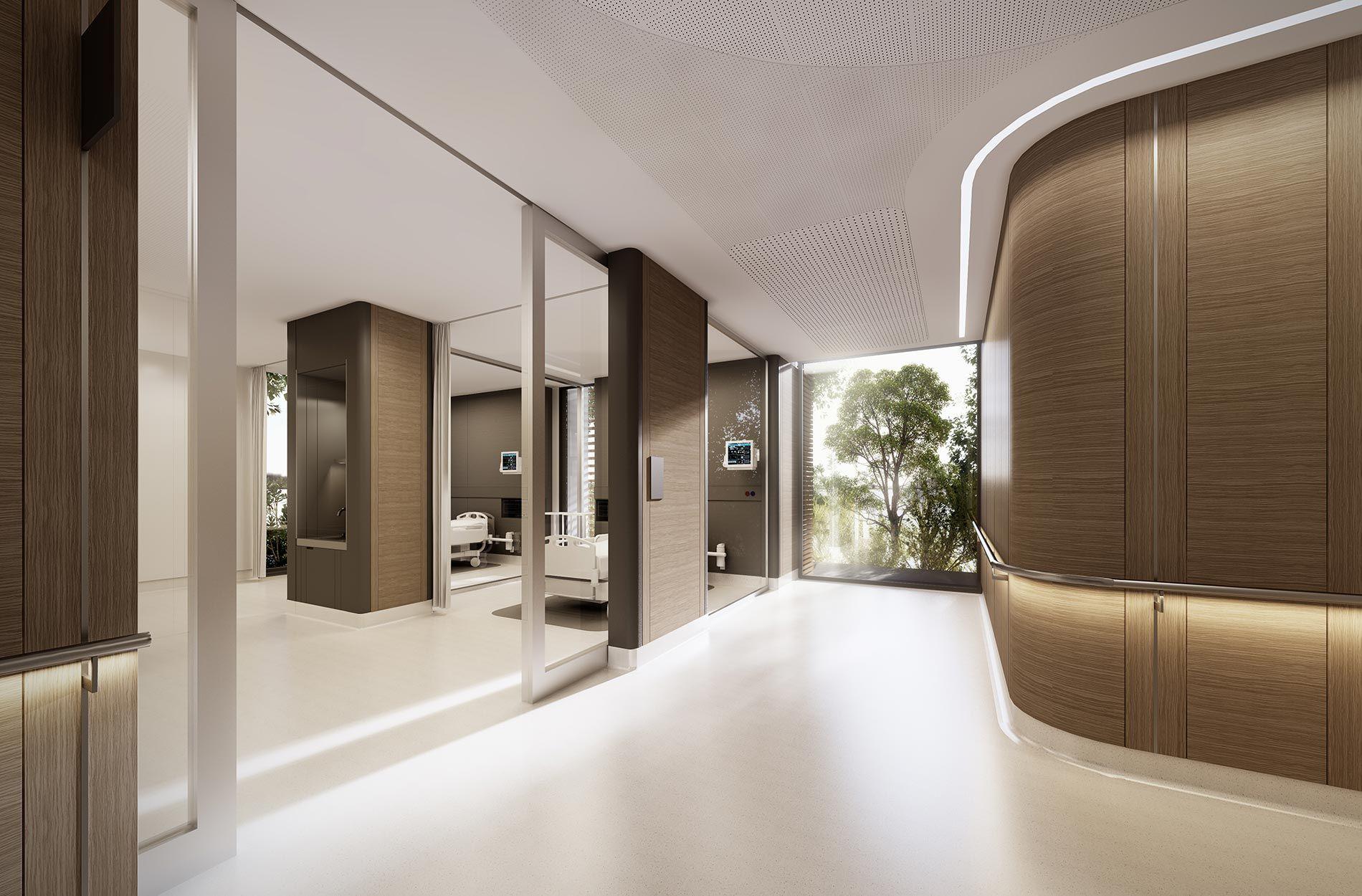 Cabrini medical centre 1 hospital interior design