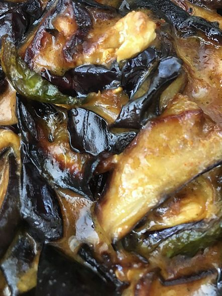 Wambatu Maluwa (Deep-Fried Eggplant Curry)