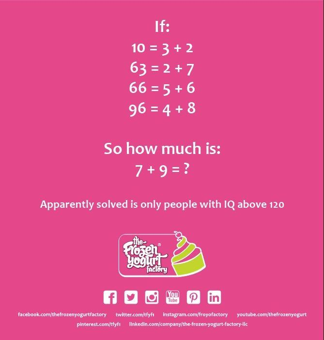 Solve it and share with your friends! A new riddle to our