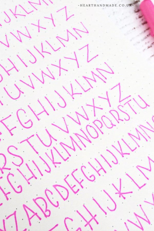 How To Easily Improve Your Handwriting As An Adult Free Printable