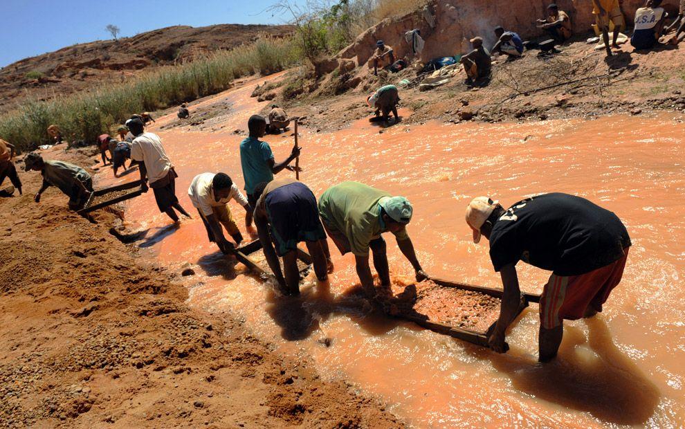 minas de zafiro en madagascar