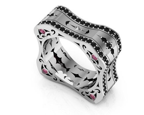 unique and intricately crafted mens bracelets wedding bands and cufflinks - Man Wedding Rings