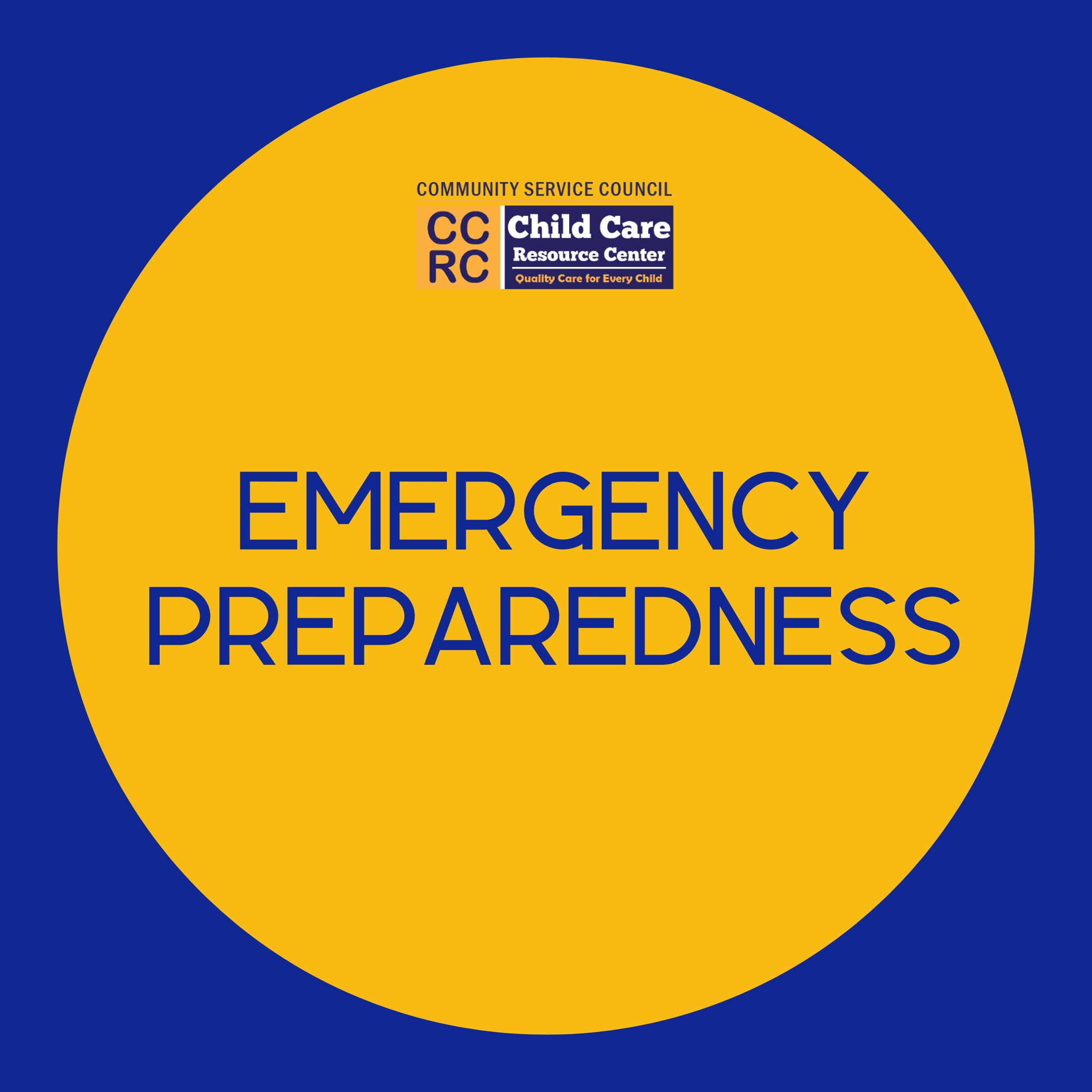 Emergency Preparedness in 2020 Emergency preparedness