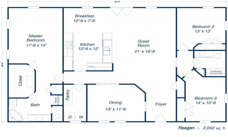 metal building plans with living quarters