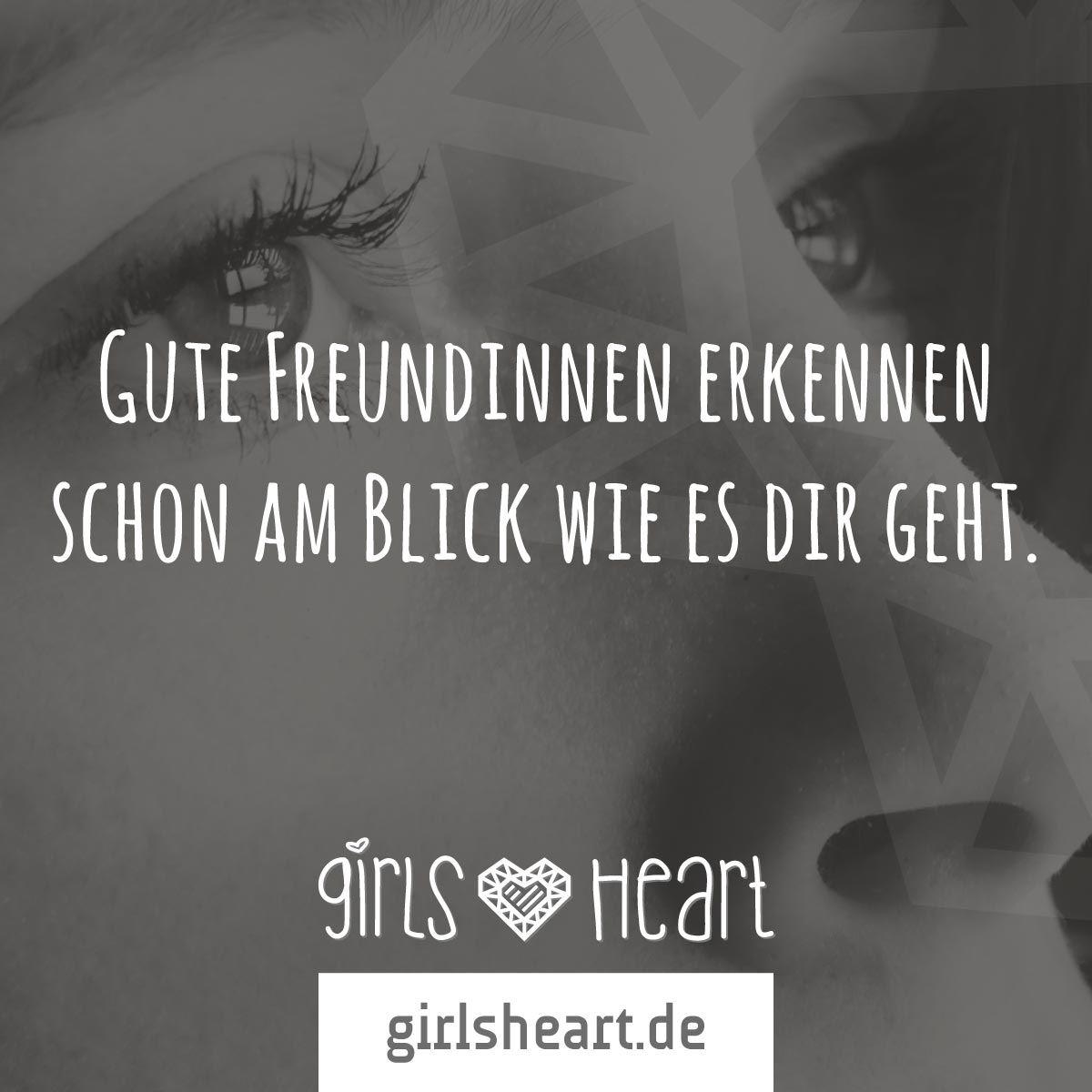 Mehr Sprüche auf: .girlsheart.de #freundschaft #freundinnen