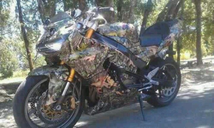 I want this please camo bike!!