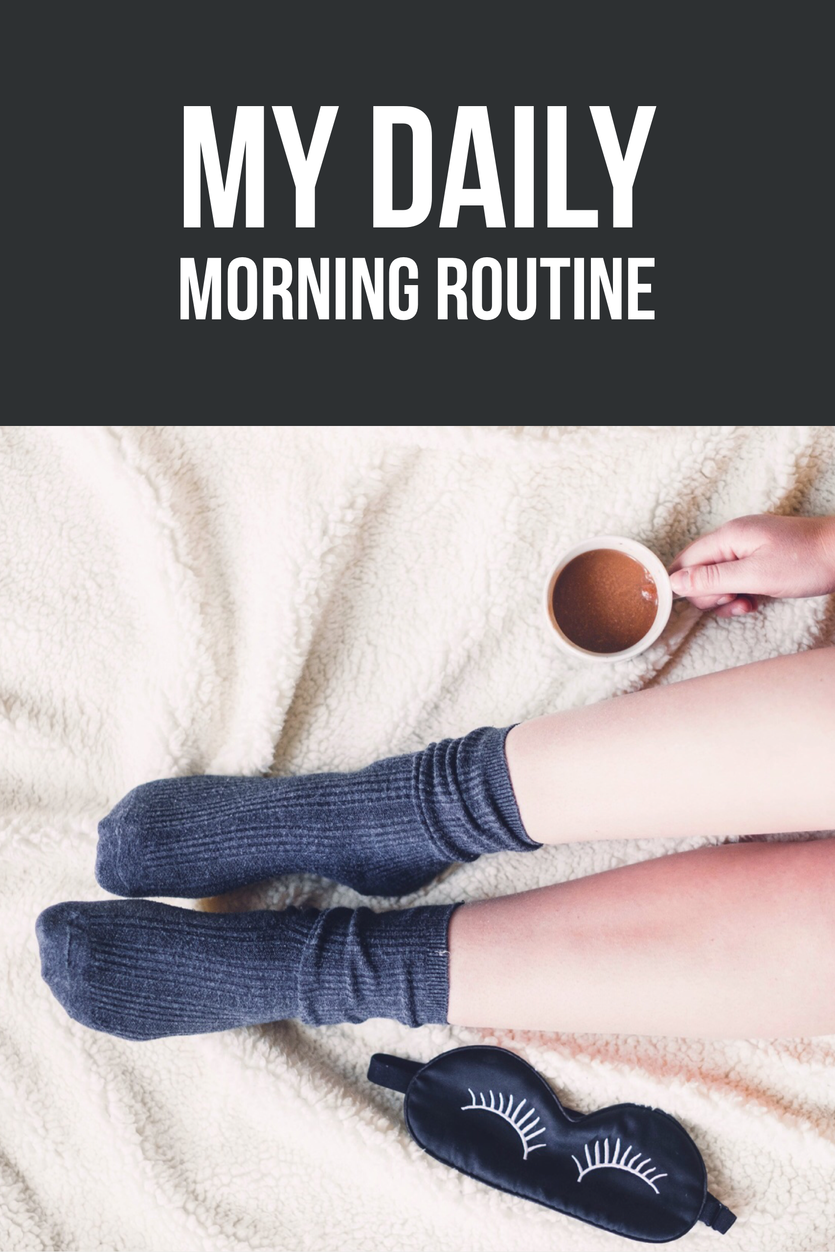 This is my daily morning routine every day before work. It is filled with tips on how easy it is to get out of bed and motivate yourself. I read that all successful people have a morning routine and I want to do the same. I don't go to the gym but I do get plenty of sleep and feel fulfilled each day.