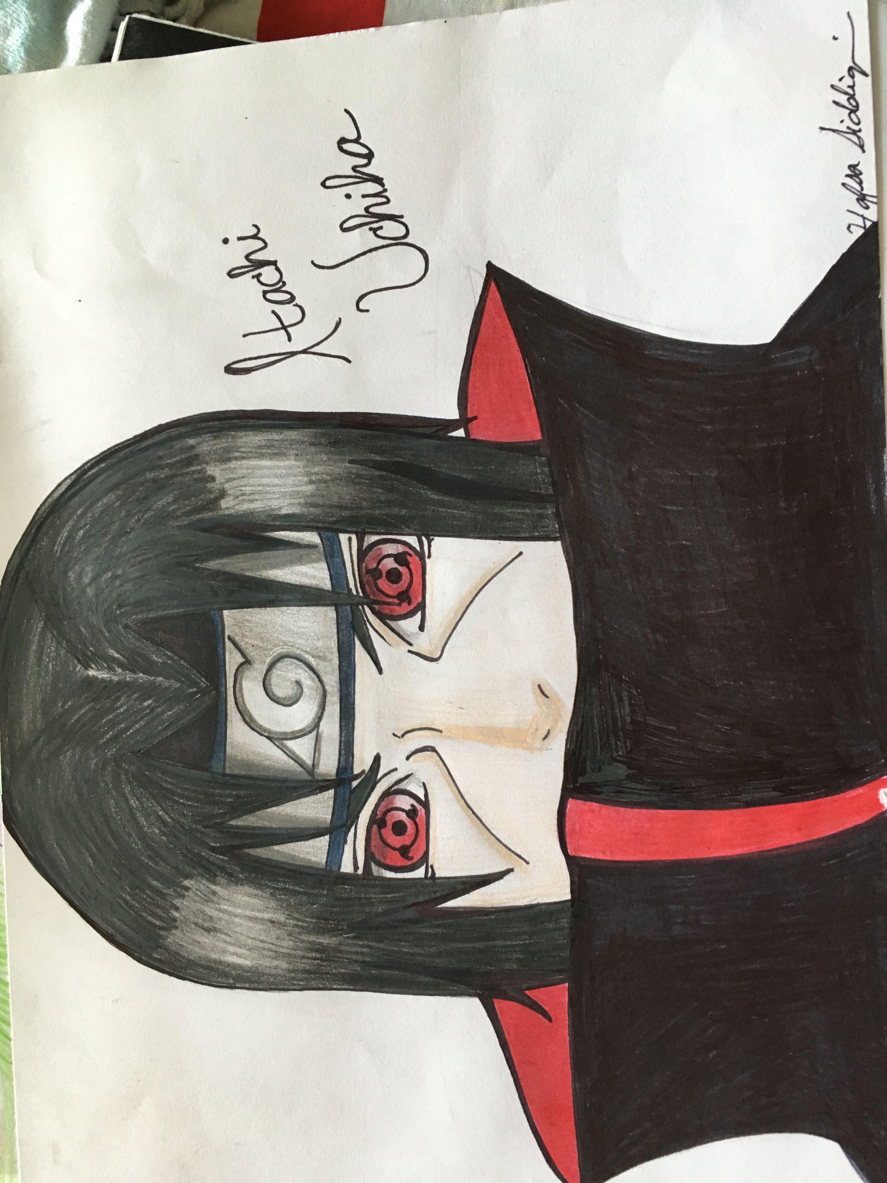 Itachi Uchiha Naruto Desenho Anime Itachi