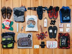 Packing for a month-long, 340-mile hike isn't simple—but nothing worth doing is ever simple.