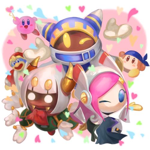 Pin By Lunamatsuu On Kirby Kirby Art Kirby Character Kirby