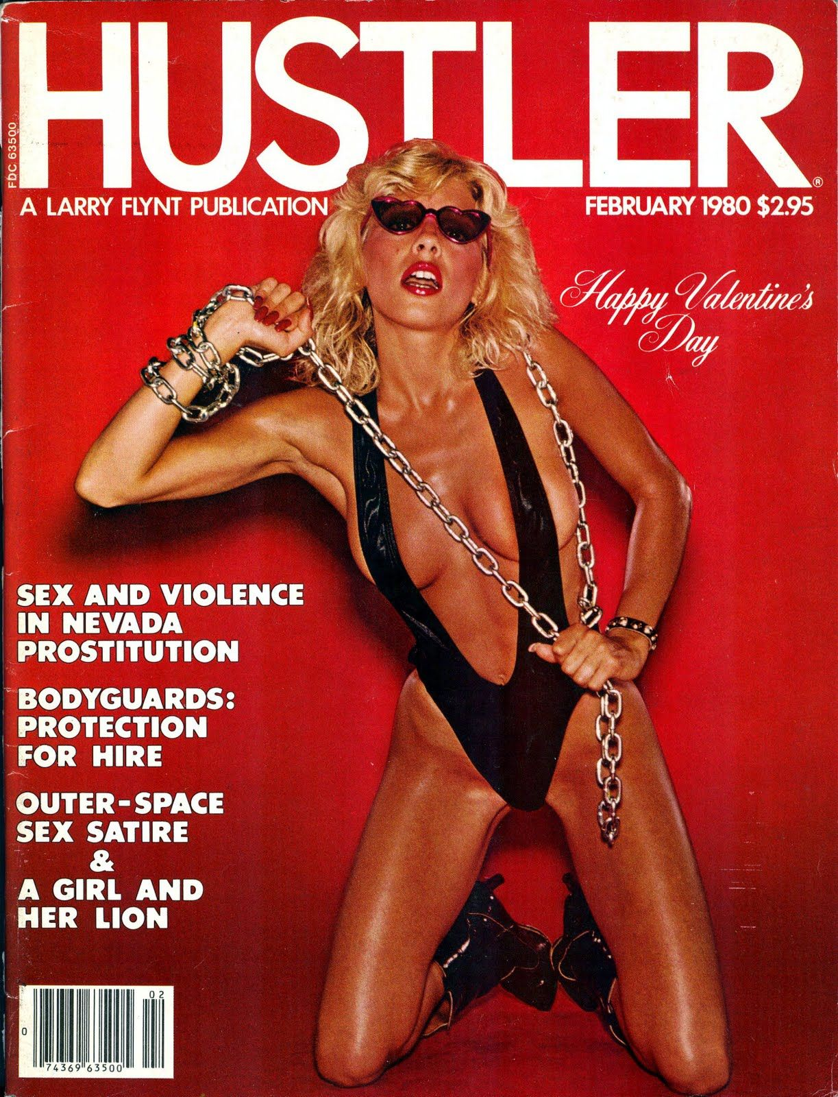 Hustler covers 80s
