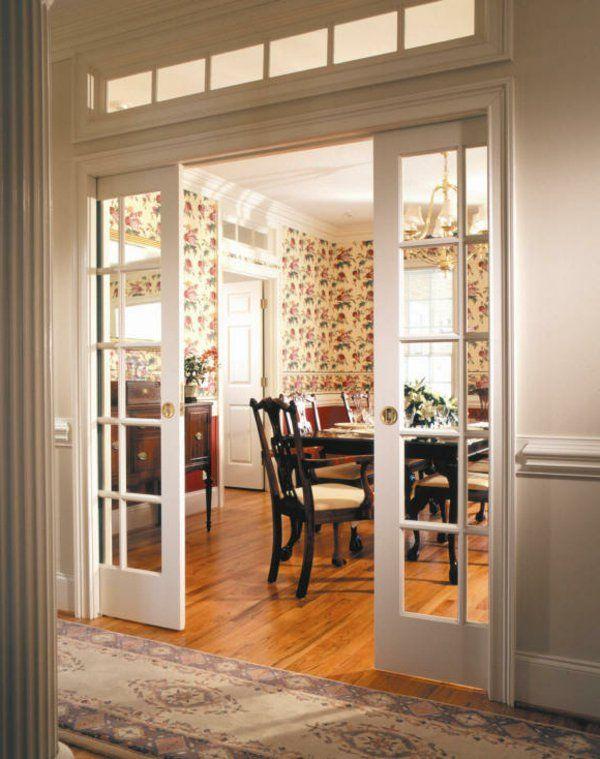 Les portes intérieures vitrées - laissons les intérieurs respirer - changer les portes interieures