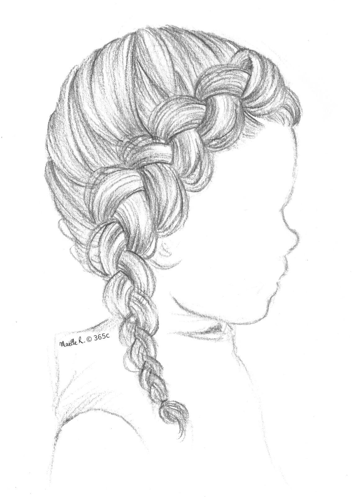 Mode Des Enfants Dessin Coiffure Tresse Africaine Dessin Comment Dessiner Des Cheveux