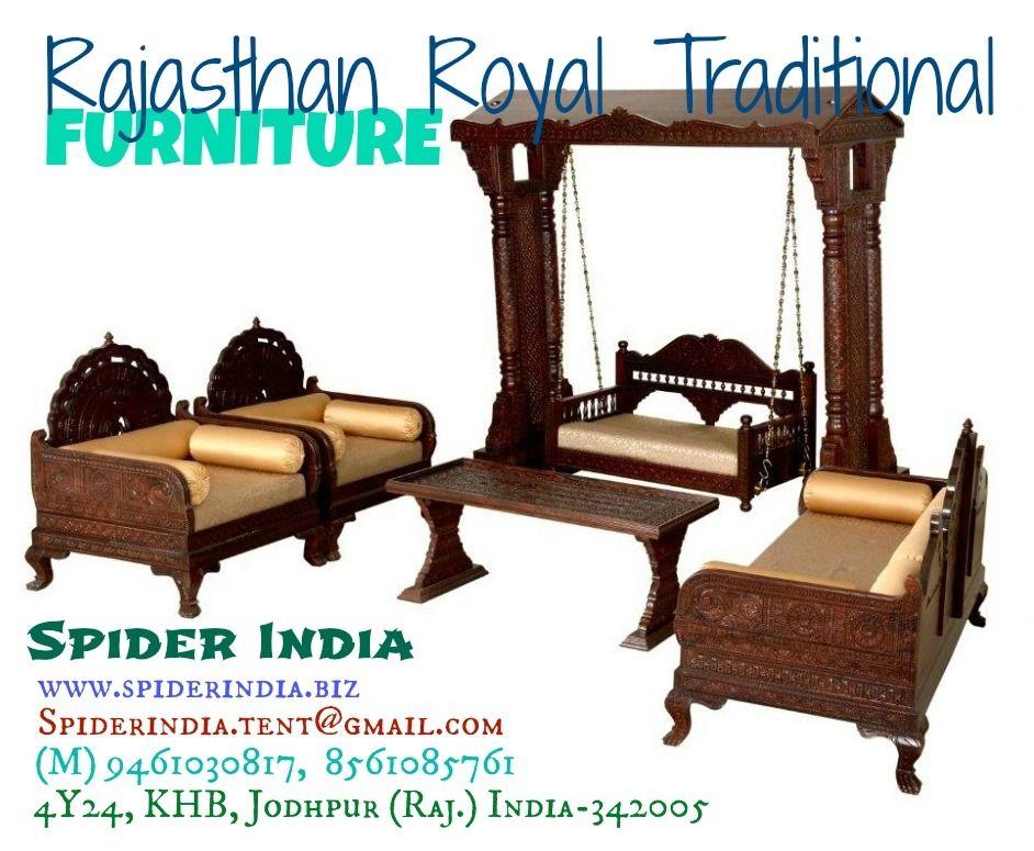 Teak Wood Barmeri Carved Traditinal Furniture Carved Sofa Sofas