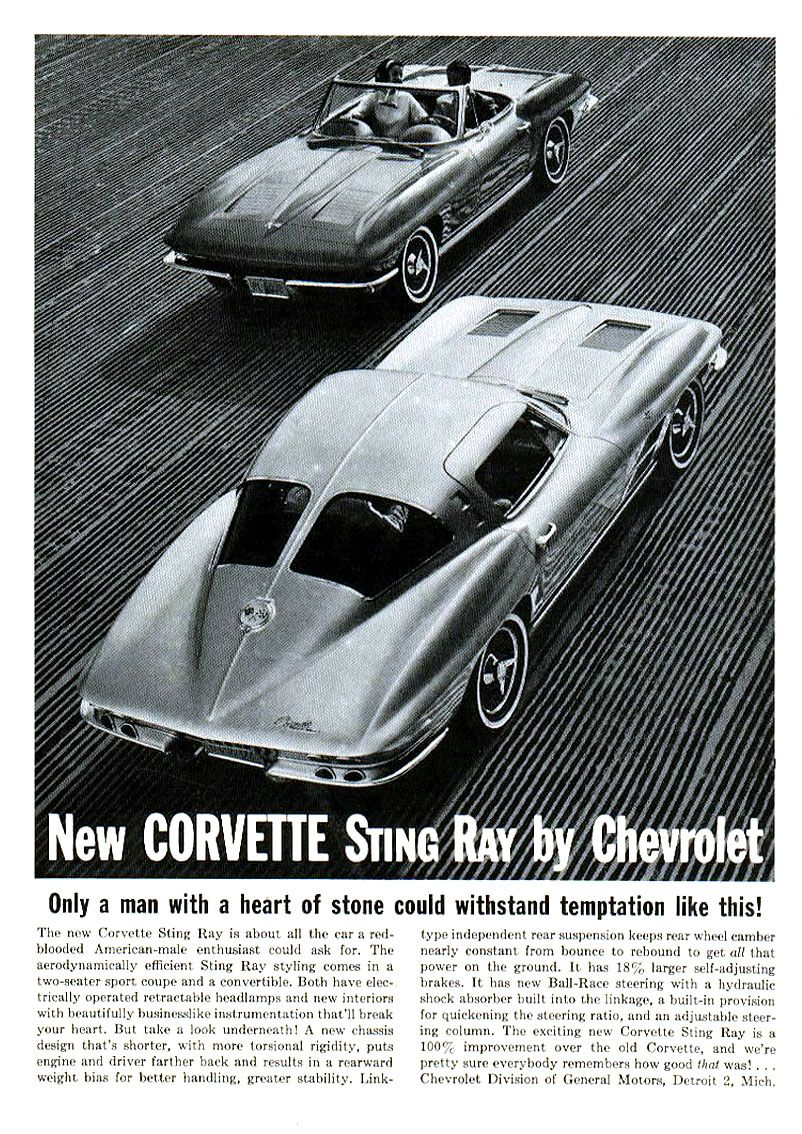 1963 Advertisements Chevrolet | Old Car Ads Home | Old Car Brochures | Old  Car Manual