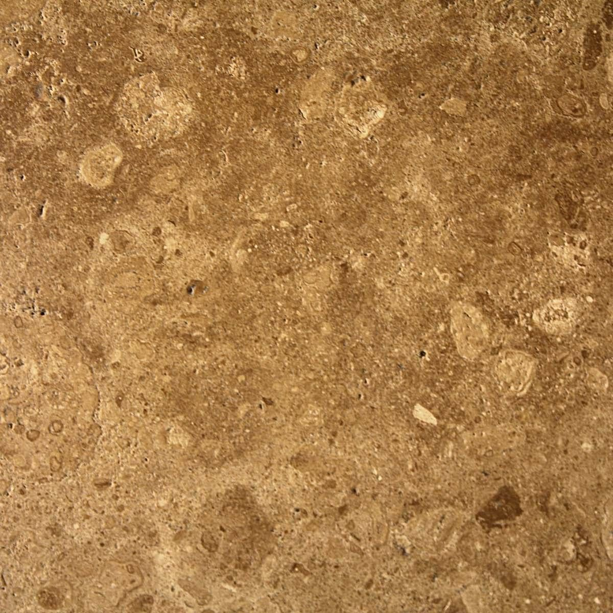 Light Brown Granite : Splotchy dark and light brown textured granite material
