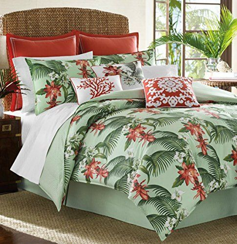 Tommy Bahama Southern Breeze Duvet Set Comforter Sets Tropical