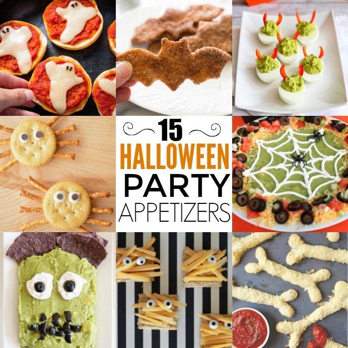 Halloween Appetizers - 15 Halloween Snack Ideas Halloween snack - cheap halloween food ideas