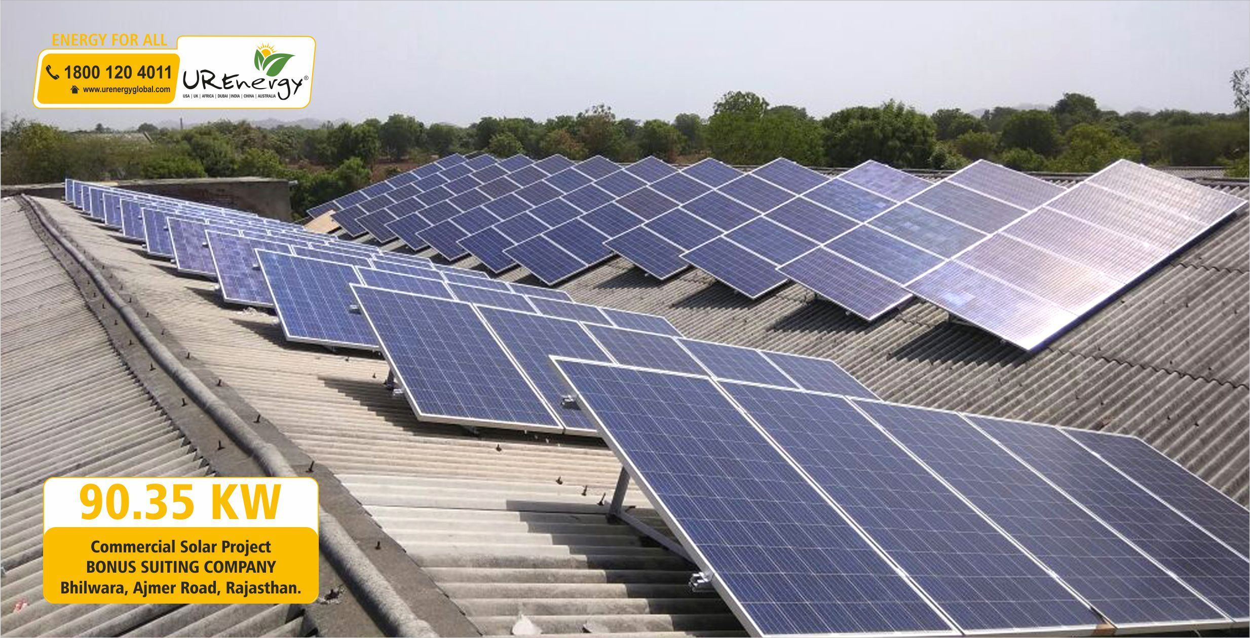 Commercial Solar Packages 50 Kw Solar Panel System Kit U R Energy Solar Solar Power Source Solar Power