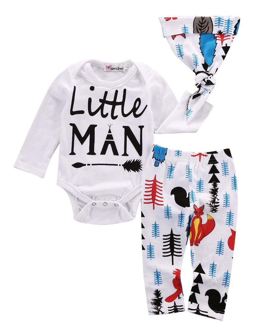 Click to Buy ucuc pcs xmas newborn baby clothes set baby boy girl