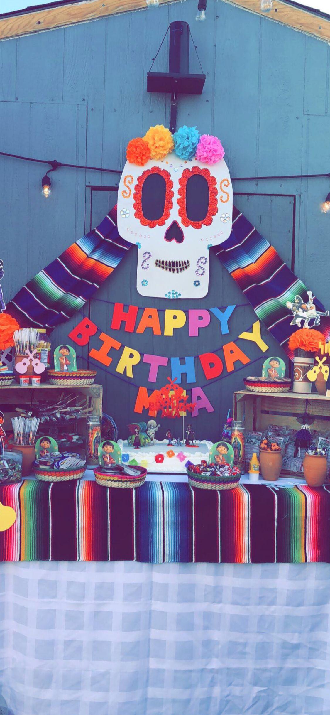 Disney Pixar Coco theme party   Fiesta México   Pinterest   disney ...