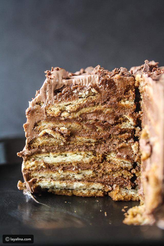 حلى بسكوت الشاي Biscuit Cake Chocolate Chip Cookies Savoury Cake