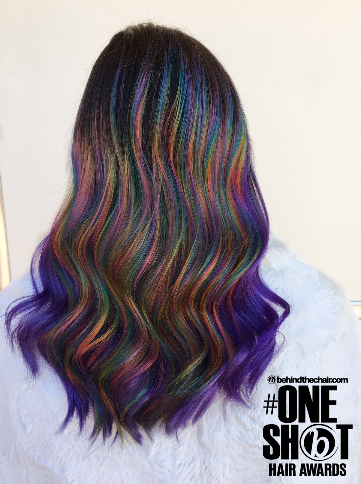 That Halo Prism Here Is My First Ever Entry For The Behindthechair Com One Shot D Many Than Hair Dye Colors Artistic Hair Hair Styles