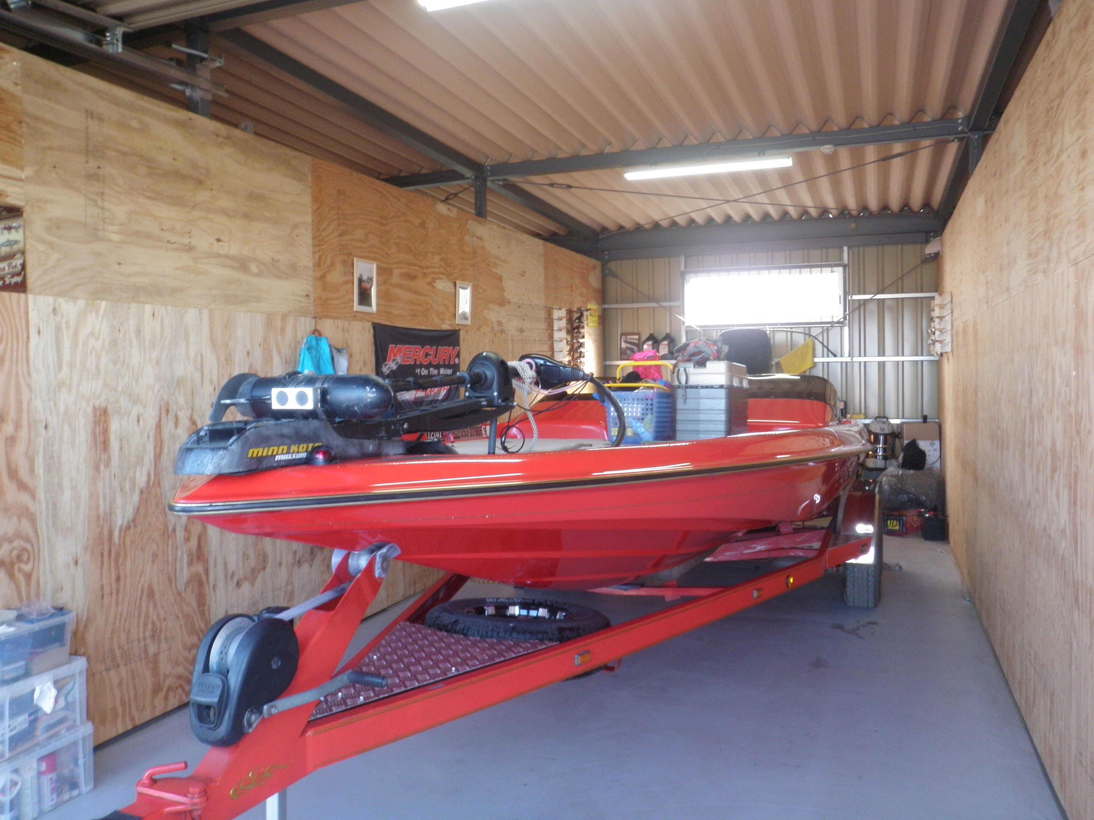 Find This Pin And More On Bass Boat Garage By