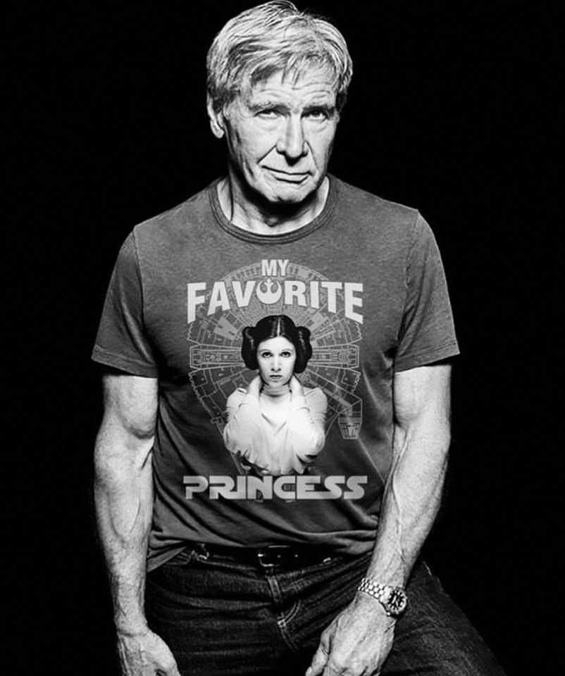 Harrison Ford i think this is photochopped. But, ima ...