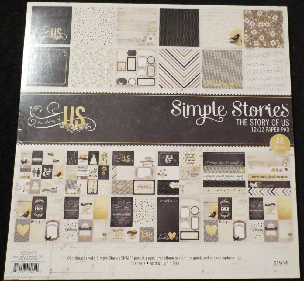 US $20.40 New in Crafts, Scrapbooking & Paper Crafts, Scrapbooking Paper & Pages
