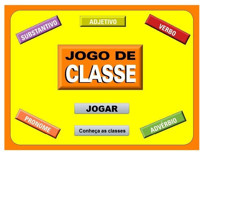 Jogo De Classe Jogo Virtual Divertudo Classes De Palavras Classe Gramatical Jogo De Palavras