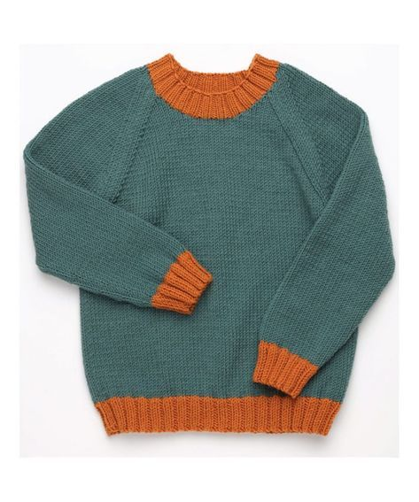 Free Knitting Pattern for a Classic Kid's Pullover with ...