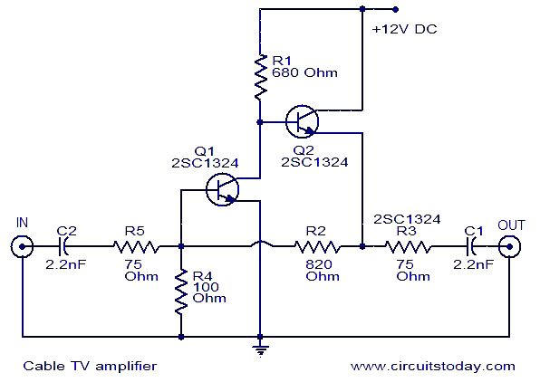 Extender Circuit Circuit Diagrams Schematics Electronic Projects