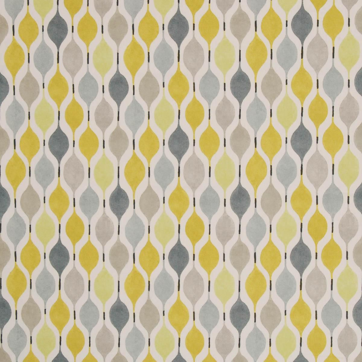 yellowy version | Dining room | Pinterest | Curtain fabric, Modern ...