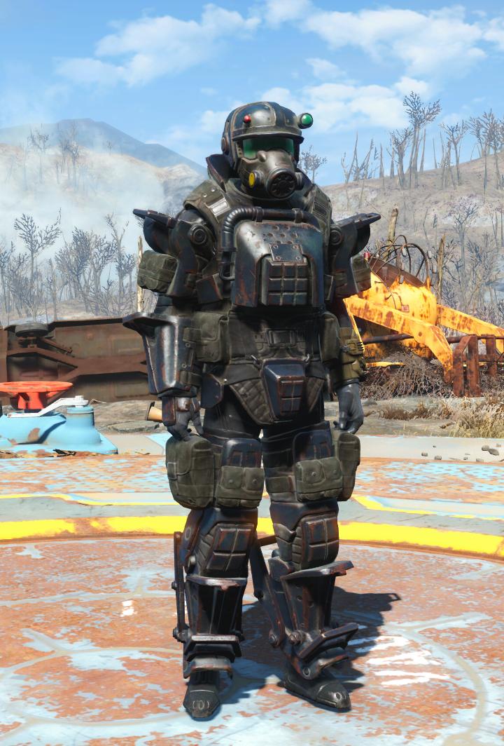Marine armor (Far Harbor) | Fallout | Fallout 4 armour